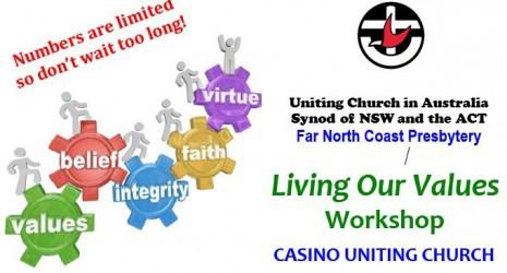 Living Our Values Workshop